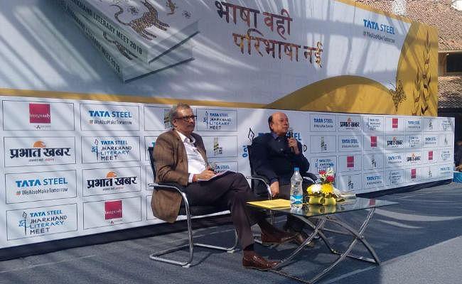 जो कुछ नहीं करता, जो कुछ नहीं सोचता, वह मर जाता है, Jharkhand Literary Meet 2018 में बोले उदय प्रकाश