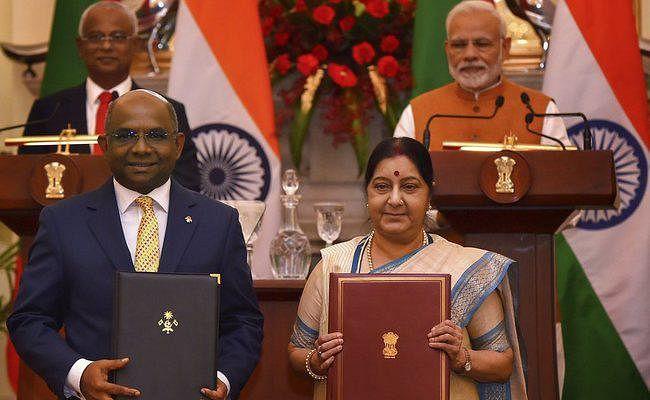 मालदीव को भारत देगा 1.4 अरब डाॅलर की आर्थिक सहायता, दोनों देशों के बीच चार समझौते