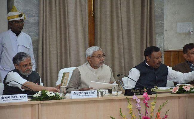 CM नीतीश ने की पटना में समीक्षा बैठक, अधिकारियों को दिये जरूरी और आवश्यक निर्देश