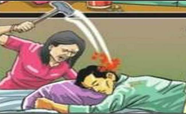 पत्नी ने पति की हत्या कर शव को दो दिनों तक अलमारी में छिपाया, लाश ठिकाने लगाने के दौरान खुली पोल...