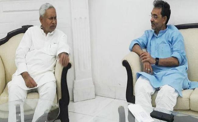 JDU में होगा रालोसपा का विलय? सीएम नीतीश-उपेंद्र कुशवाहा की मुलाकात के बाद अटकलें तेज