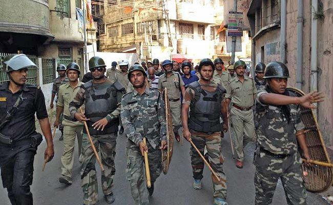 बंगाल में हथियार के साथ रैली करने पर प्रतिबंध, हनुमान जयंती को लेकर बढ़ायी गयी सुरक्षा