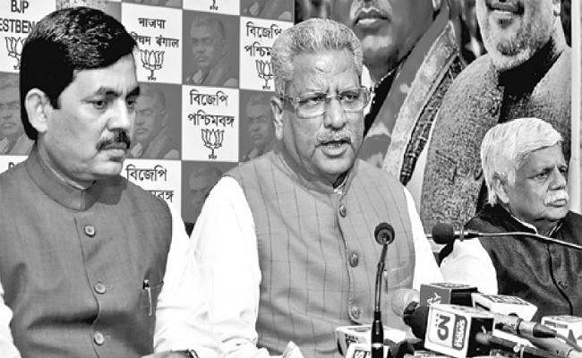 बंगाल : आसनसोल दौरे के दौरान बोले शाहनवाज, ममता ने दिया दर्द, हम दवा देने आये हैं