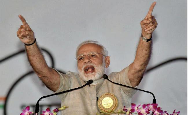 प्रधानमंत्री मोदी ने सरकार के काम में रोड़े अटकाने के लिए विपक्ष की आलोचना की