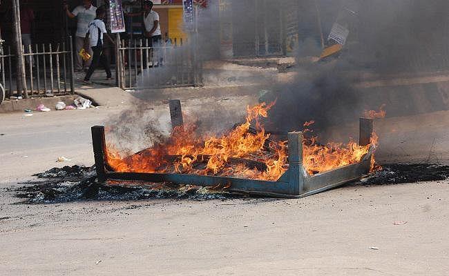 भारत बंद का बिहार के लखीसराय में दिखा व्यापक असर