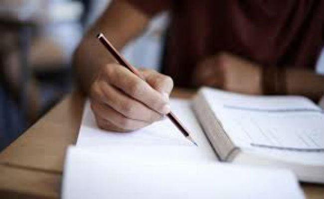 11 वीं रसायन का प्रश्नपत्र परीक्षा से पहले आउट होने का दावा