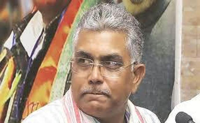 कोलकाता : तस्वीर विवाद पर बोले दिलीप घोष, कहा :  हकीकत देख कर बौखला गयी है तृणमूल