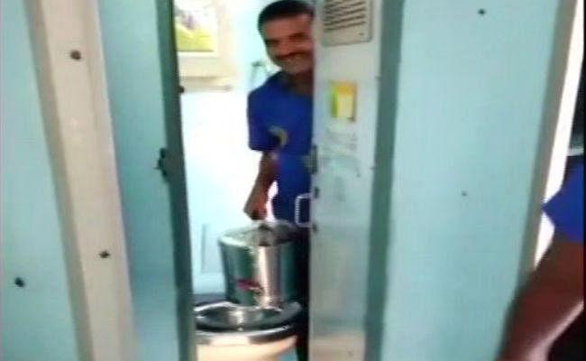 VIDEO: चाय/कॉफी में टॉयलेट के पानी का इस्तेमाल करने पर रेलवे ठेकेदार पर हुई कार्रवाई