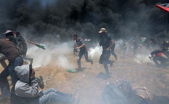 यरुशलम में अमेरिका दूतावास के विरोध में प्रदर्शन, इस्राइली सेना के साथ झड़प में 52 लोगों की मौत