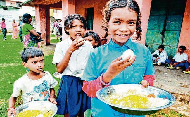 बच्चों को मिलेगा पोषाहार, दूध-हल्दी, अंडा व  हरी सब्जियों की मात्रा भी बढ़ेगी