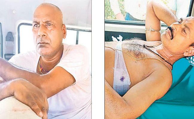 पटना : रिश्वत लेते पकड़ा गया तो दारोगा ने निगरानी के कांस्टेबल को मारा चाकू