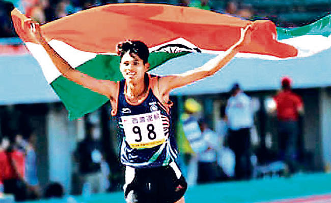 अनु को 800 मीटर की दौड़ में स्वर्ण, रांची की सपना कुमारी सातवें स्थान पर