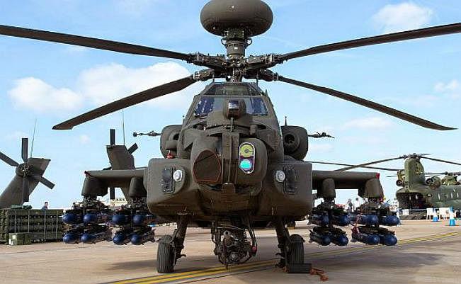 अमेरिकी सरकार ने मंजूर किये भारत को लड़ाकू एएच - 64 ई अपाचे विमान बेचने का सौदा