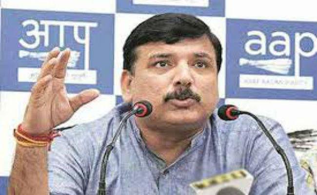 Farmers Protest: किसानों के आंदोलन को 'आप' का समर्थन, संजय सिंह ने पीएम मोदी पर बोला हमला