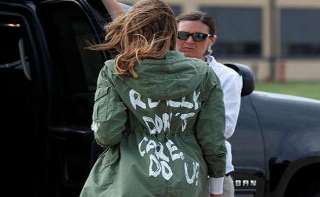 मेलानिया के जैकेट पर बवाल, डोनाल्ड ट्रंप की सफाई, जानें पूरा मामला