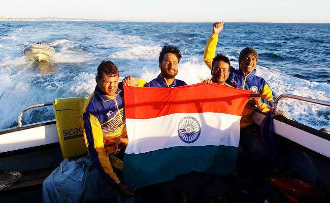 75 प्रतिशत दिव्यांग सतेन्द्र सिंह ने रचा इतिहास, इंग्लिश चैनल पार करने वाले पहले एशियाई खिलाड़ी बने