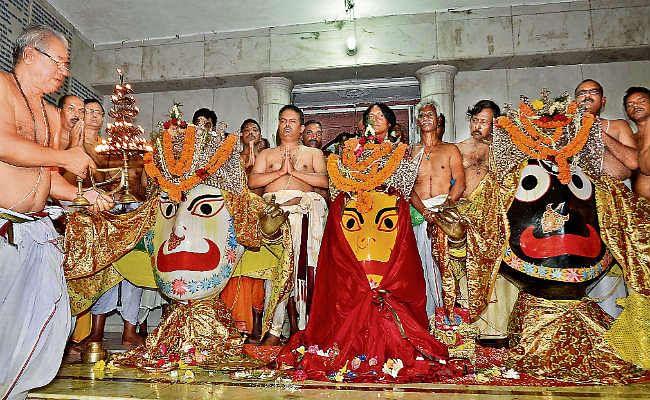 रांची : 13 को होगा भगवान जगन्नाथ का नेत्रदान, हर रोज मंदिर में जुट रही है भक्तों की भीड़