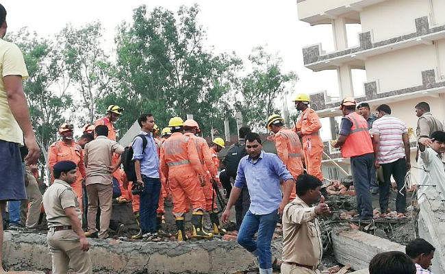 गाजियाबाद बिल्डिंग हादसा : मृतक के परिवार को 2 लाख और घायलों को 50 हजार रुपये का मुआवजा