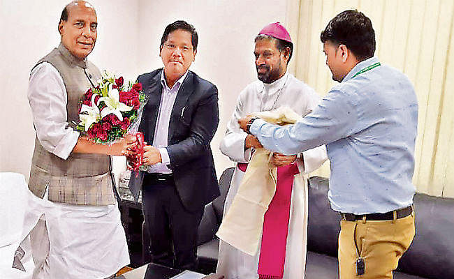 गृहमंत्री से बिशप मास्करेन्हास मिले, झारखंड पर की चर्चा
