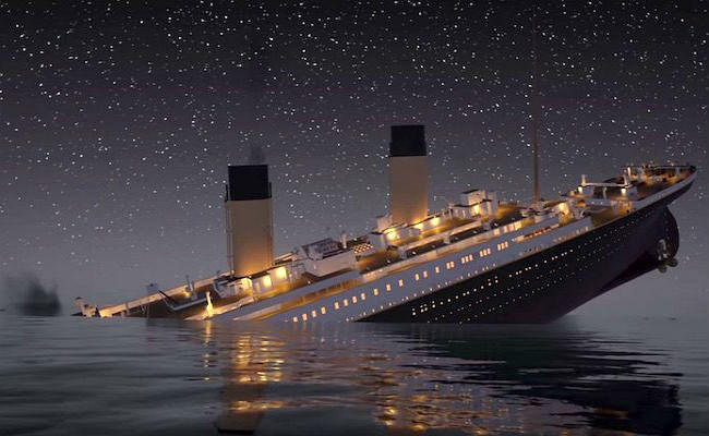 चार सितंबर : 73 साल पहले डूबे जहाज टाइटेनिक की तस्वीरें पहली बार सामने आयीं