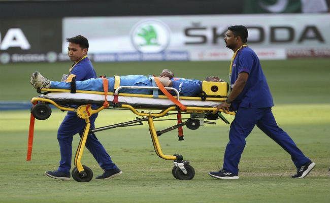 पाकिस्तान के साथ भिड़ंत में घायल हुए पांड्या, स्ट्रेचर पर मैदान से लाए गये बाहर