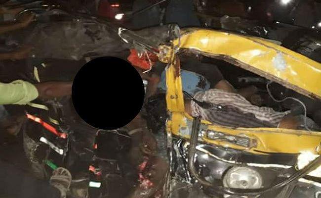 पश्चिम बंगाल : बीरभूम में ऑटो और ट्रक के बीच सीधी टक्कर, ऑटो में सवार सभी 7 लोगों की मौत