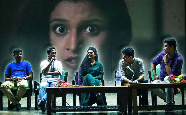 डीयू के सत्यवती कॉलेज में कक्क्क किरण की स्क्रीनिंग, दर्शकों ने की तारीफ