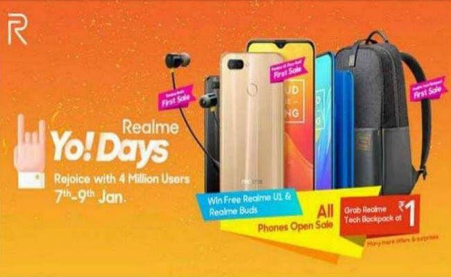 Realme Yo Days Sale: Realme U1, Realme 2 Pro और एक्सेसरीज पर बड़ी छूट