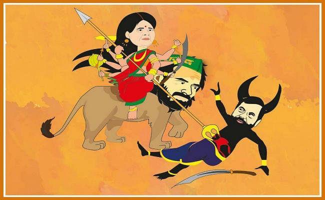 ''अंगूठा छाप'' की टिप्पणी को लेकर तेज प्रताप ने रामविलास पासवान पर किया बड़ा हमला, जाने क्या कहा