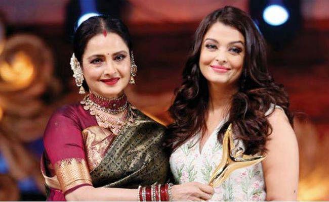 VIDEO: जब अमिताभ बच्चन की बहू ऐश्वर्या को देखते ही रेखा ने लगाया गले
