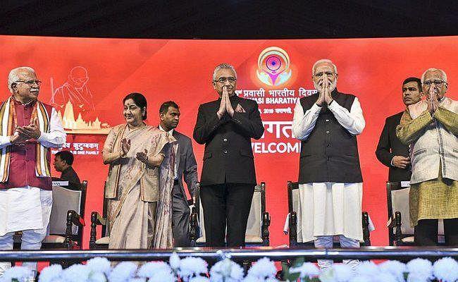 प्रवासी भारतीय सम्मेलन : मॉरीशस के PM ने भोजपुरी में दिया भाषण, लोग हुए मंत्रमुग्ध