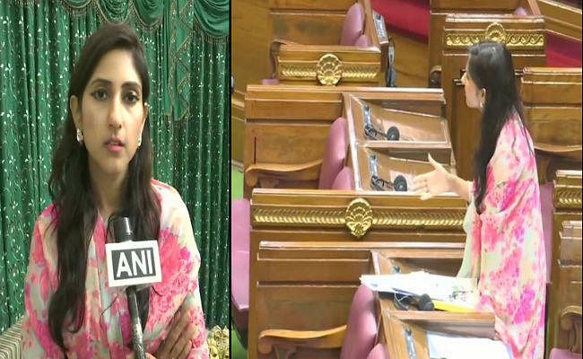 यूपी विधानसभा का विशेष सत्र जारी, पार्टी लाइन तोड़ चर्चा में शामिल हुईं कांग्रेस विधायक अदिति सिंह