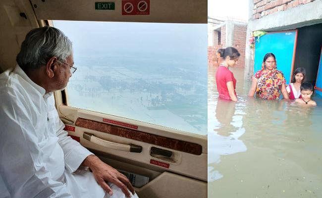 पटना के कई इलाकों में अब भी जलजमाव, बढ़ा डायरिया का खतरा, मुख्यमंत्री ने किया हवाई सर्वेक्षण, खाली घरों पर चोरों की नजर
