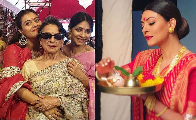 Durga Puja 2019 : परिवार संग दुर्गा मां के दर्शन करने पहुंची काजोल, इन अभिनेत्रियों ने भी की पूजा-अर्चना