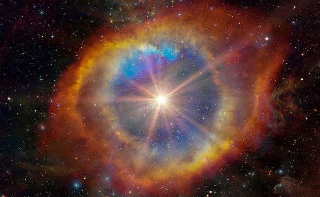 Research: आकाशगंगा के केंद्र में 30 लाख वर्ष से भी पहले हुआ था विस्फोट