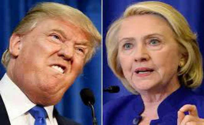 ट्रंप ने कसा तंज : कहा- हिलेरी को 2020 का राष्ट्रपति चुनाव लड़ना चाहिए