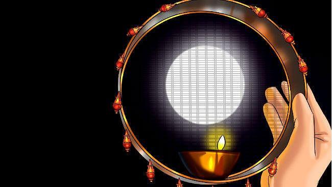 Karwa Chauth 2020 Date, Puja Muhurat, Timing : देशभर  में नजर आया करवा चौथ का चांद, व्रतियों ने चंद्रमा को देखकर खोला अपना व्रत