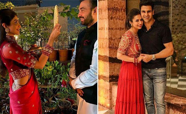 Karwa Chauth 2019: शिल्पा शेट्टी समेत इन सितारों ने ऐसे मनाया करवा चौथ, देखें तसवीरें