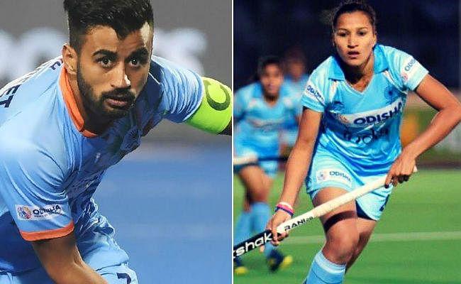 ओलंपिक क्वालीफायर में भारतीय हॉकी टीम की अगुआई करेंगे मनप्रीत और रानी