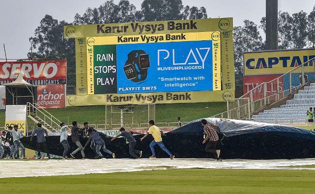 weather warning : भारत-दक्षिण अफ्रीका के मैच में फिर खलल डाल सकता है मौसम
