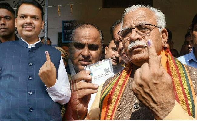 एक्जिट पोल : महाराष्ट्र और हरियाणा में भाजपा की प्रचंड जीत के आसार