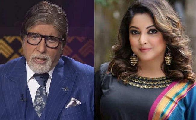 #MeToo: केबीसी में अमिताभ बच्चन ने किया तनुश्री दत्ता का जिक्र, अभिनेत्री ने दिया ऐसा रिएक्शन