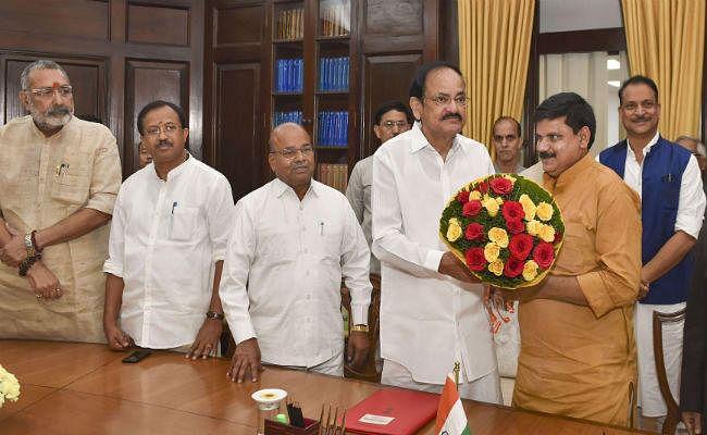 बिहार से चुने गये सतीश चंद्र दुबे ने राज्यसभा सदस्य के रूप में शपथ ग्रहण की