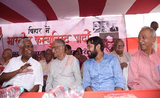 बिहार में गठबंधन नहीं, भाजपा चला रही है सरकार : डी राजा