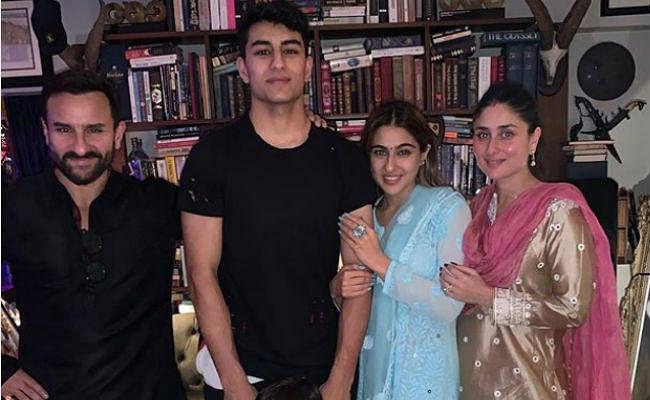 सारा अली खान ने परिवार संग ऐसे मनाई दीवाली, देखें तसवीरें