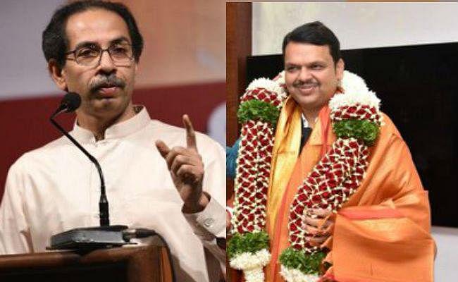 महाराष्ट्र में सीएम को लेकर खींचतान जारी, शिवसेना ने सरकार पर कसा तंज- 'इतना सन्नाटा क्यों है भाई?''