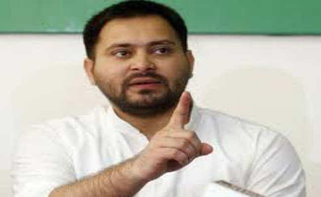 बिहार नहीं संभल रहा तो इस्तीफा दें नीतीश  - तेजस्वी