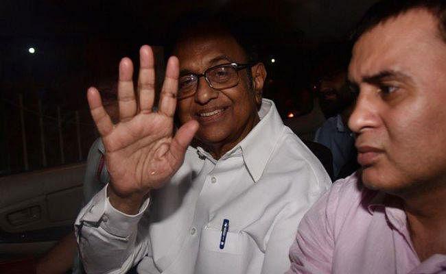 INX Media : चिदंबरम को नहीं मिली राहत, 13 नवंबर तक न्यायिक हिरासत में भेजे गये
