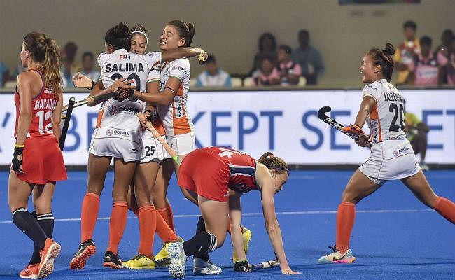 हाॅकी : ओलिंपिक क्वालीफायर में भारतीय महिलाओं ने अमेरिका को 5-1 से रौंदा
