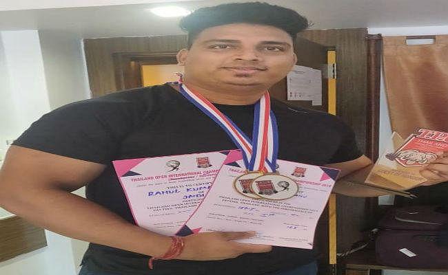 सिमडेगा के लाल राहुल कुमार ने थाईलैंड में जीत स्वर्ण